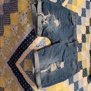 VIP Jean shorts